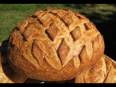 How to Shape Bread Dough - Shaping Round Loaves - Boules - Batards - French Bread - YouTube