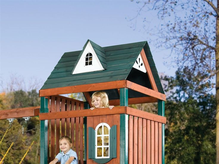 Wooden Play Set Roof Kit Playset Roof Kits Swing Set