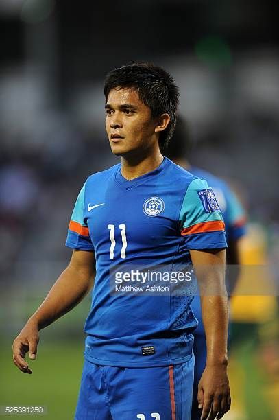 Sunil Chhetri of India