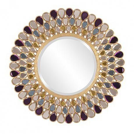 Grace Mirror: Mirror Mirror, Living Rooms, Decor Ideas, Round Mirror, Wall Mirror, Houses Ideas, Grace Wall, Grace Mirror, Howard Elliott