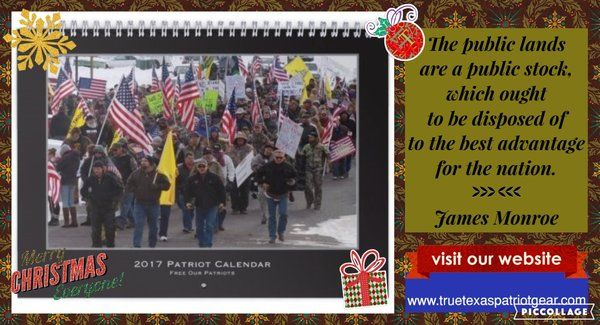 Patriot Political Prisoners 2017 Calendar. $20 plus shipping. http://truetexaspatriotgear.com/products/patriot-political-prisoners-2017-calendar#.WDL2eUSxWas.facebook