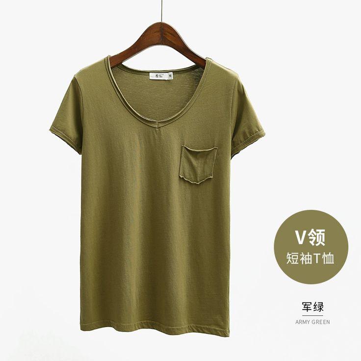 размера женщины большой летнего хлопок с коротким рукавом футболка сердобольных корейские студенты свободно с коротким рукавом футболки рубашка женщина дикой -tmall.com Lynx