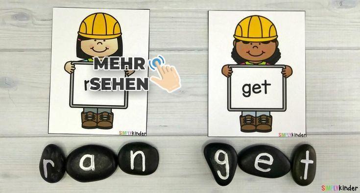 Watch Word Builders and Rocks – #   – Konstruktion