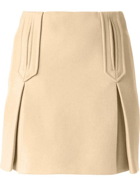 Shop Carven box pleat skirt in Banner from the world's best independent boutiques at farfetch.com. Over 1000 designers from 60 boutiques in one website.