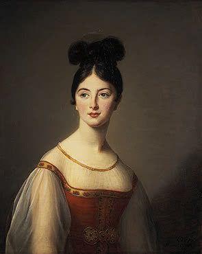 30-10-11  Portrait of a Woman by Élisabeth Vigeé-Lebrun, 1831