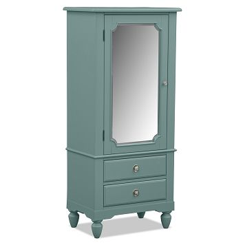 Mayflower Blue Kids Furniture Lingerie Chest | Furniture.com $379.99