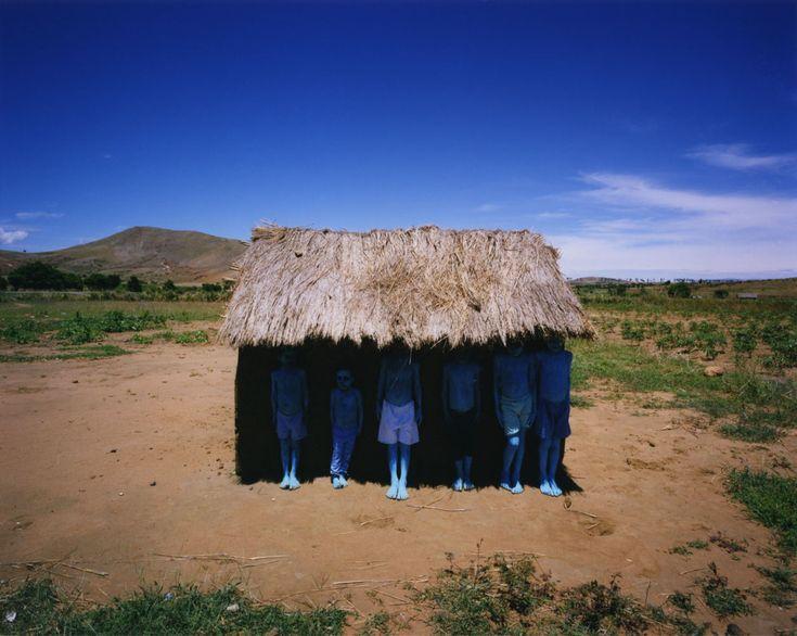 Scarlett Hooft Graafland Blue People