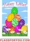 Zebra Eggs Garden Flag