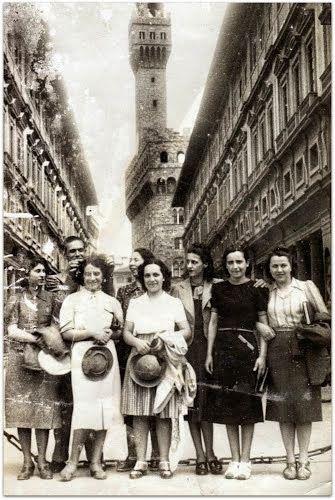 Firenze 1948 - Colleghi della Venchi Unica di Torino in gita aziendale