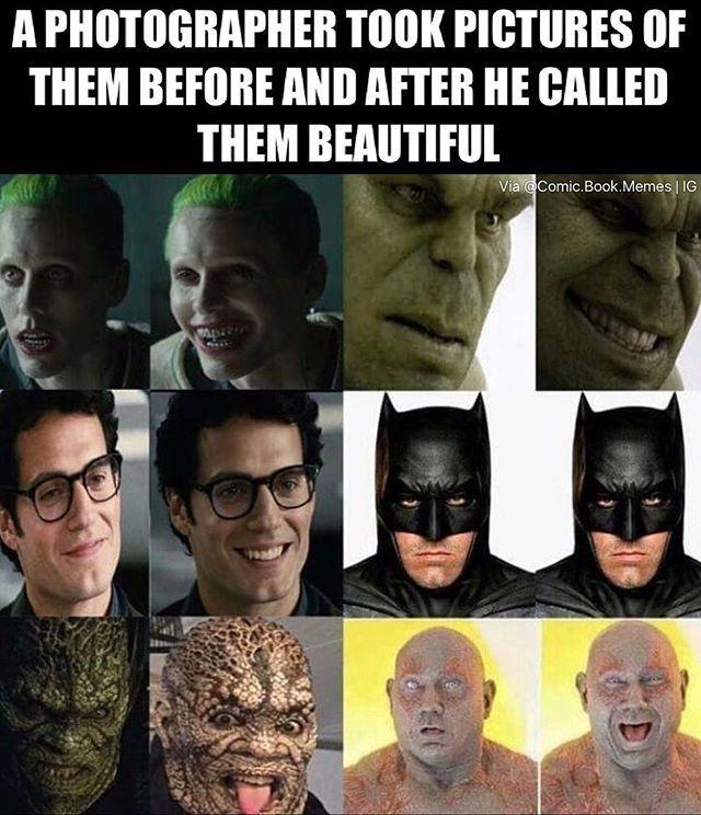Ha! Then there's batman.