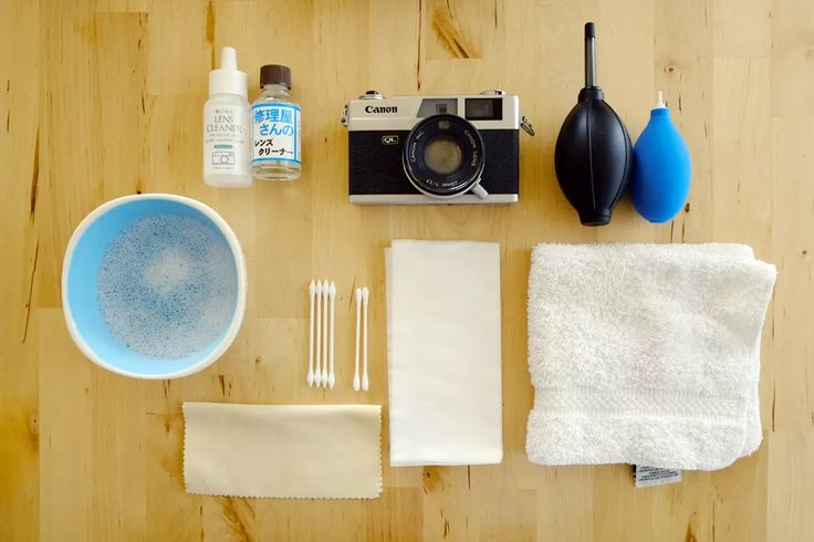 JapanCameraHunter's Classic Camera Cleaning Guide Recently I saw a camera cleaning guide online and I thought to myself 'I can definitely do better than th