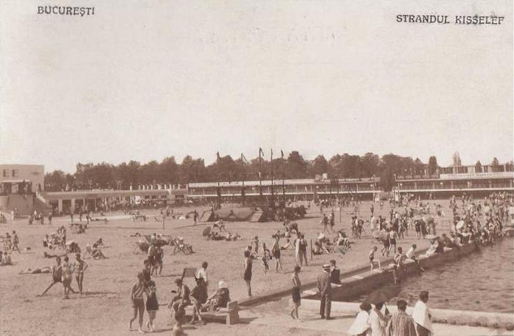 Bucuresti - Strandul Kisselef - interbelica