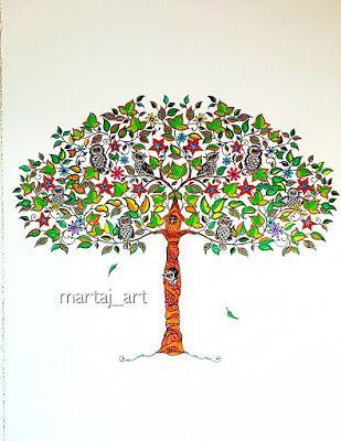martaj_art: Secret Garden coloring book for adults