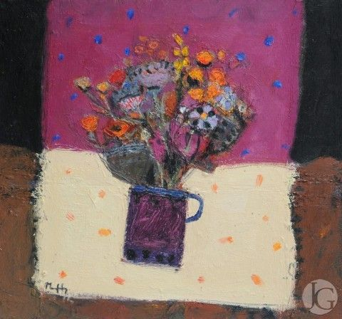 Still Life and Interiors by Sandy Murphy from The Jerram Gallery, Sherborne, Dorset. Contemporary British pictures and sculpture