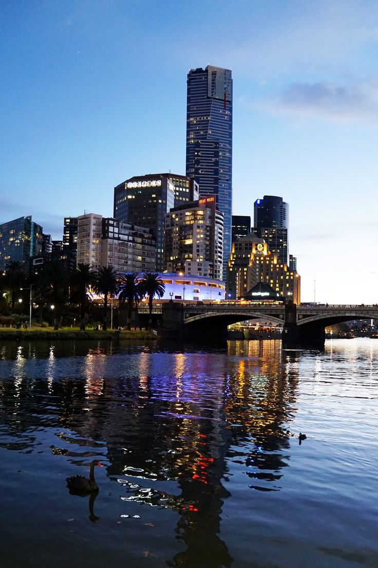 """Yarra River And The City"", CBD, Melbourne"
