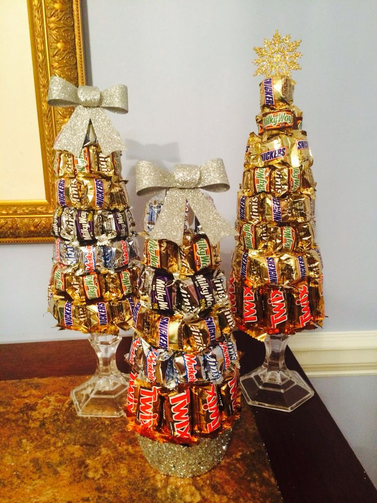 Candy Bar Christmas Trees