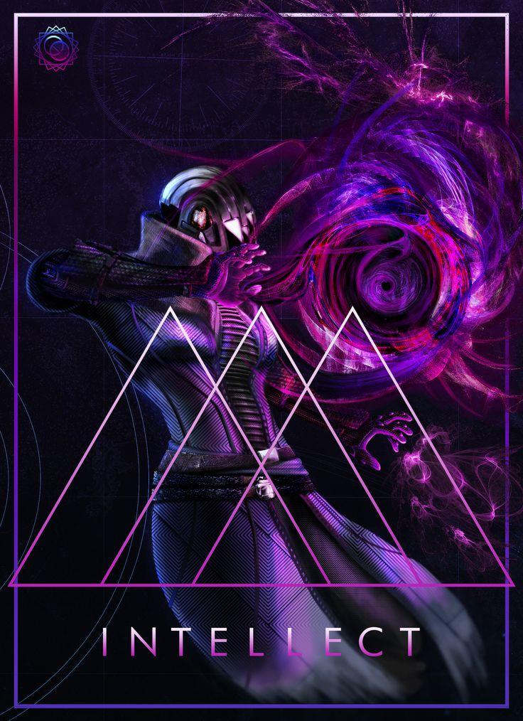 Photoshop  Warlock race fan art for Destiny, the video game