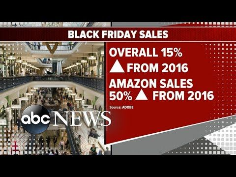 Online Black Friday sales increase 15 percent from 2016 Good Morning America