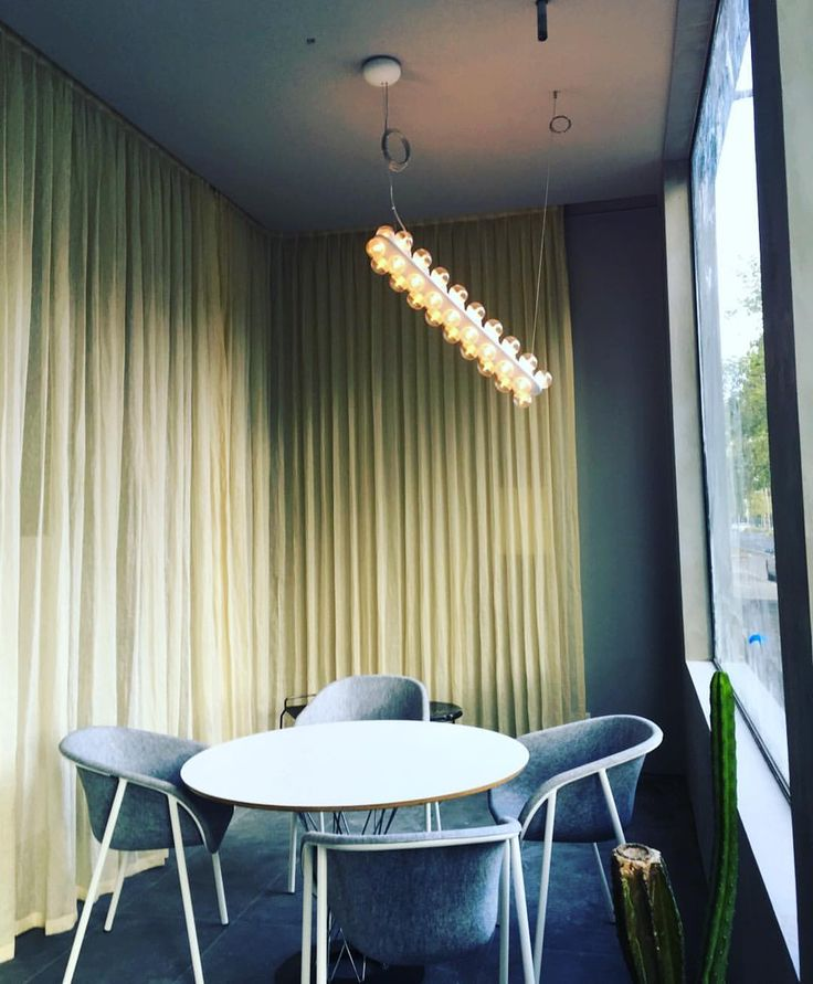 It's all about creating the right ambient.  Recently installed sheer curtains for this Parkville architect firm. Need a quote?!
