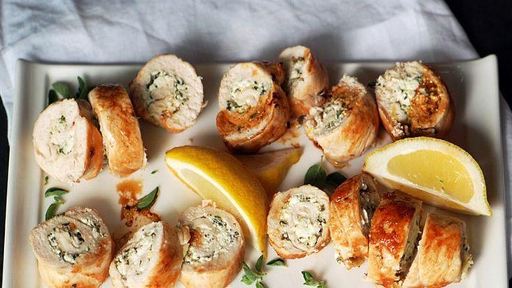 Chicken Roulade | Bon Appetit Recipe