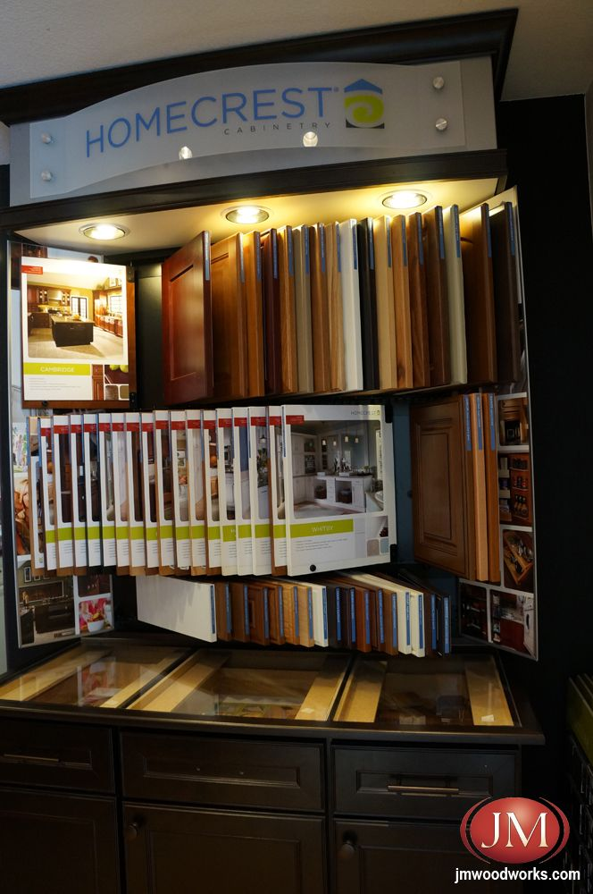 Homecrest kitchen cabinet door and stain color samples for Kitchen showrooms denver
