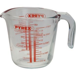 Buy Pyrex 0.5 Litre Glass Measuring Jug at Argos.co.uk - Your Online Shop for Baking equipment.