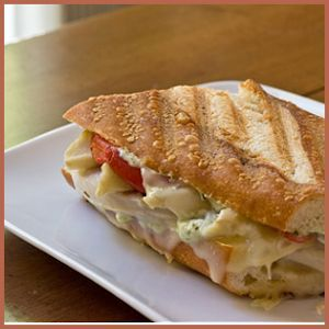Garlic Chicken Panini by PaniniHappy