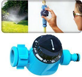 Pin it :-) Follow us :-)) zGardensupply.com is your Garden Supply Gallery ;) CLICK IMAGE TWICE for Pricing and Info :) SEE A LARGER SELECTION of sprinkler timers at  http://zgardensupply.com/category/garden-supply-categories/watering-equipment/sprinkler-timers/ - garden, gardening, gardening gear, garden tools  - Manual Garden Hose Water Timer – Hozelock Compatible – No Battery Need – Fits 3/4″ and 1″ Taps « zGardenSupply