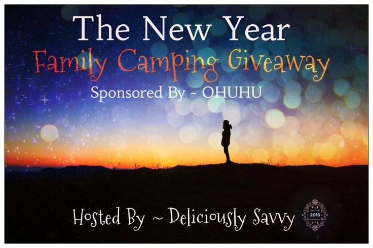 Deliciously Savvy is Hosting A New Giveaway for Ohuhu! They are Supplying one Lucky winner with $270 Worth of Fabulous Camping Products for 1 Lucky Winner! Enter Today & Good Luck!   Sponsored By ~ OHUHU Hosted By ~ Deliciously Savvy Co-Hosted By : Amy & Aron's Real Life Reviews // Seasonal Family Fun // …
