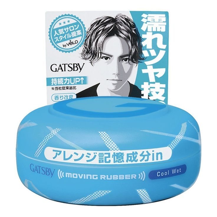 Mandom Gatsby Moving Rubber Hair Wax Cool Wet 80g