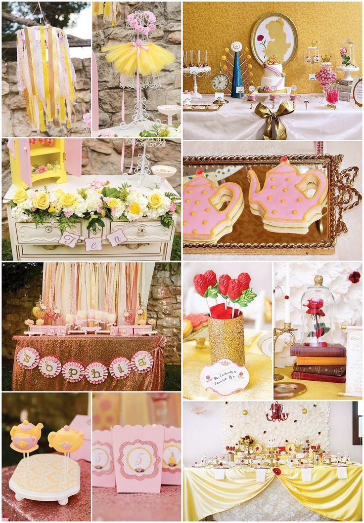 Disney Belle Party Ideas Peques 9th Birthday Party In