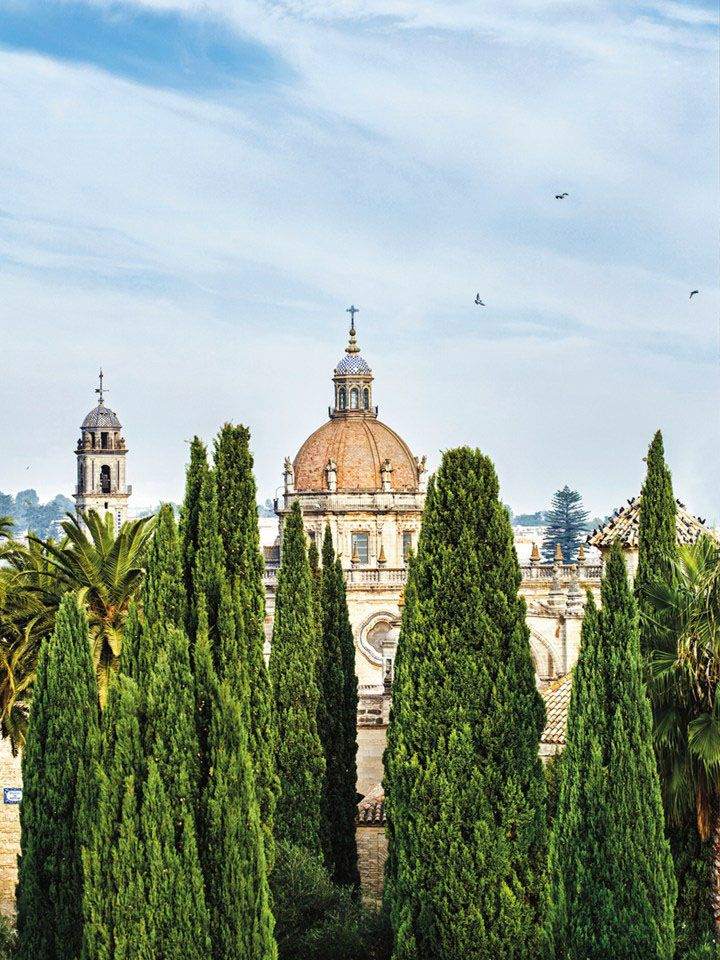 Jerez Cathedral, Andalucia, Spain. Photo: Tom Parker
