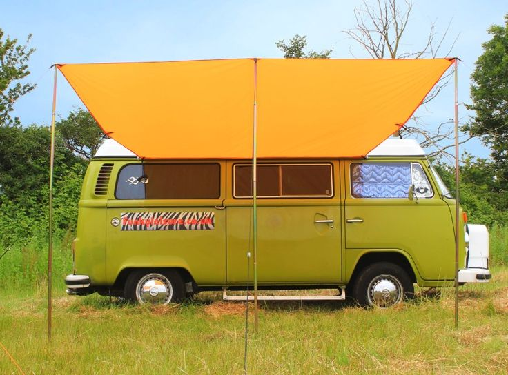 Lightweight and versatile as well as UV resistant and waterproof our VW Campervan Awning is 3 metres long and 2 4 metres deep making it one of the largest canopies