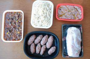 Como congelar comida para a semana - cozinhar em lote