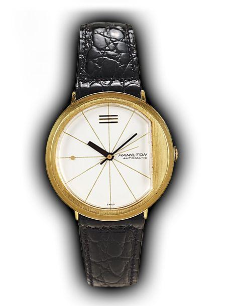 Hamilton A-202 vintage watch, 1964