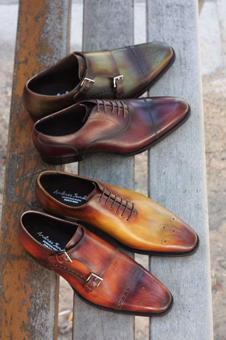 Masculine style dress shoes