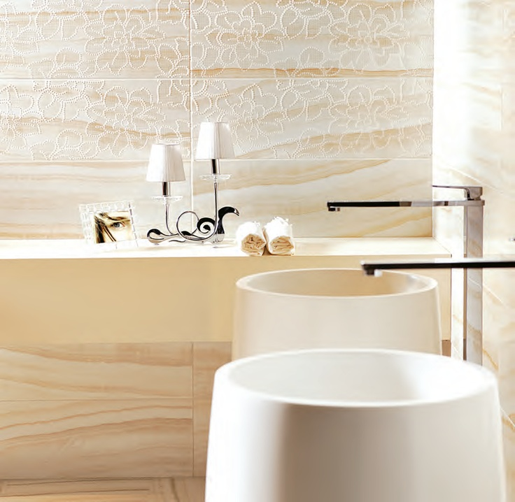 Onyx - Sadece banyoda değil, evin girişinde de çok güzel olur... Çanakkale Seramik'te!