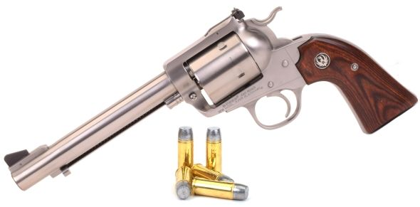 Ruger's Bisley Super Blackhawk Goes 454 Casull and 480 RugerLoading that magazine is a pain! Get your Magazine speedloader today! http://www.amazon.com/shops/raeind