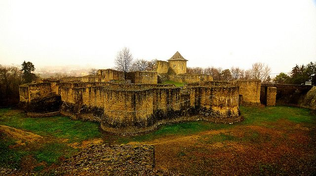 Discover the Beauty and Mystery of Romania's Castles: Suceava Fortress