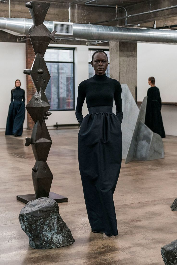 The Row Fall 2018 Ready-to-Wear Fashion Show Collection