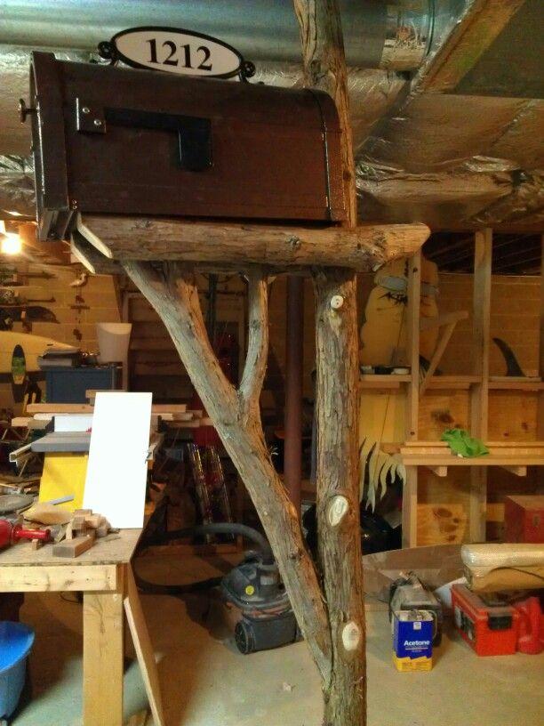 Cypress Branch Mailbox Post Woodwork Pinterest Posts