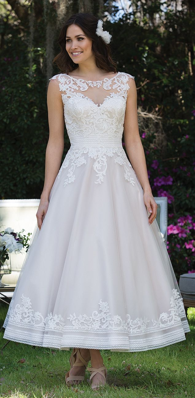 ankle length wedding dress 401 best bridal gown ankle length images on 1312