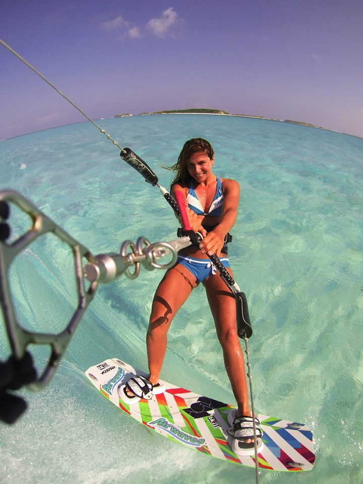 Consorti kiteboarding Collection kite surf girl by adoscool.com 2015