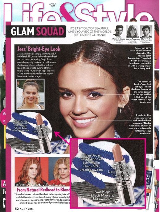 Avon Global Celebrity Makeup Artist Lauren Andersen loves using our Mega Effects Mascara and Ultra Color Absolute Lipstick in Caramel Comfort for a universal flattering shade.