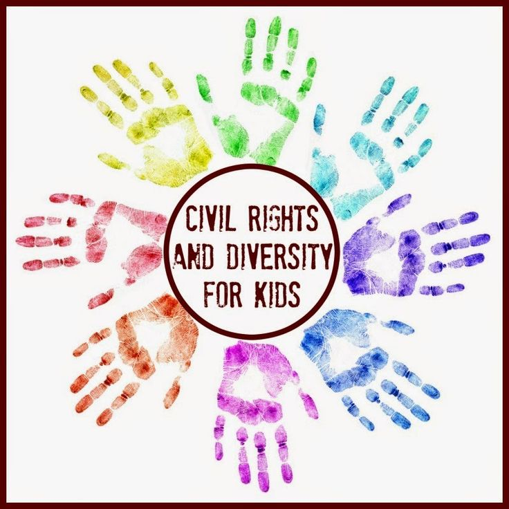 Ideas and resources that you can use to teach kids about racial diversity, Martin Luther King and civil rights.