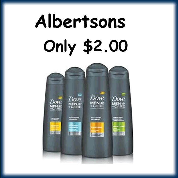 Albertson -Dove Men Hair Care Only $2.00 - http://dealmama.com/2017/09/albertson-dove-men-hair-care-2-00/