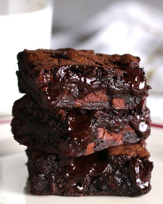 Die besten Fudgy Brownies