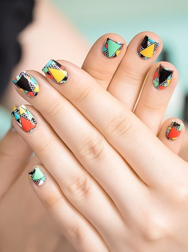 127 best n a i l images on pinterest floral wedding hairstyle cool nail art easy nail art nail art ideas designs for nails sugar nails geometric nail art fashion styles easy nails summer nail art prinsesfo Images