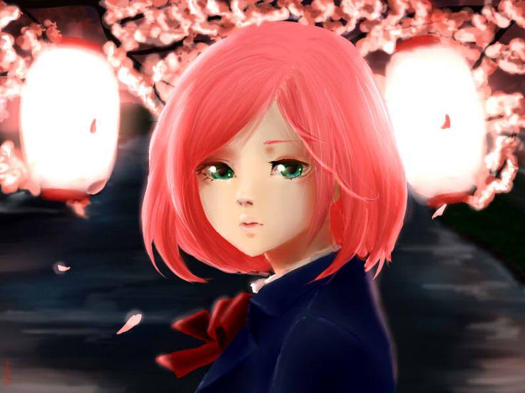 She is Sakura you can support me on here: https://www.patreon.com/sayu?ty=h or fallow me on DeviantArt: http://sayuri94watanabe.deviantart.com/
