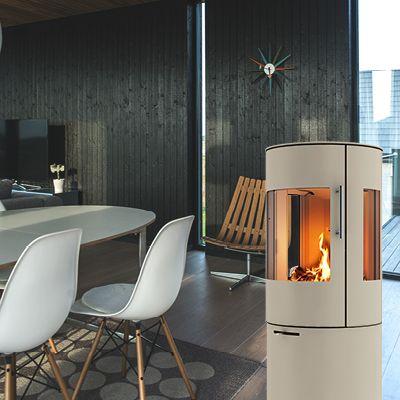 #Rais stove in beautiful Nickel
